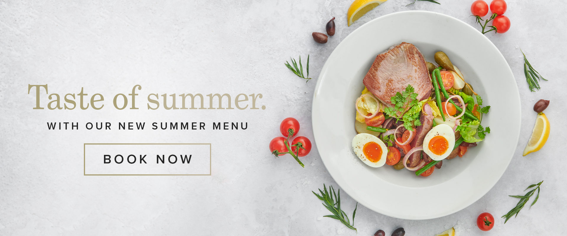 Summer menu at Browns Brighton