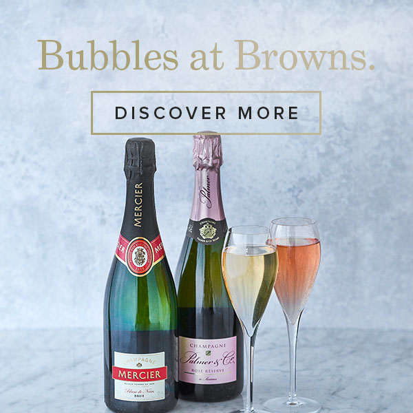 Champagne & bubbles at Browns