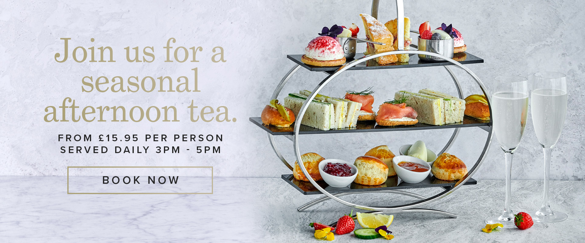 Afternoon Tea at Browns Kingston