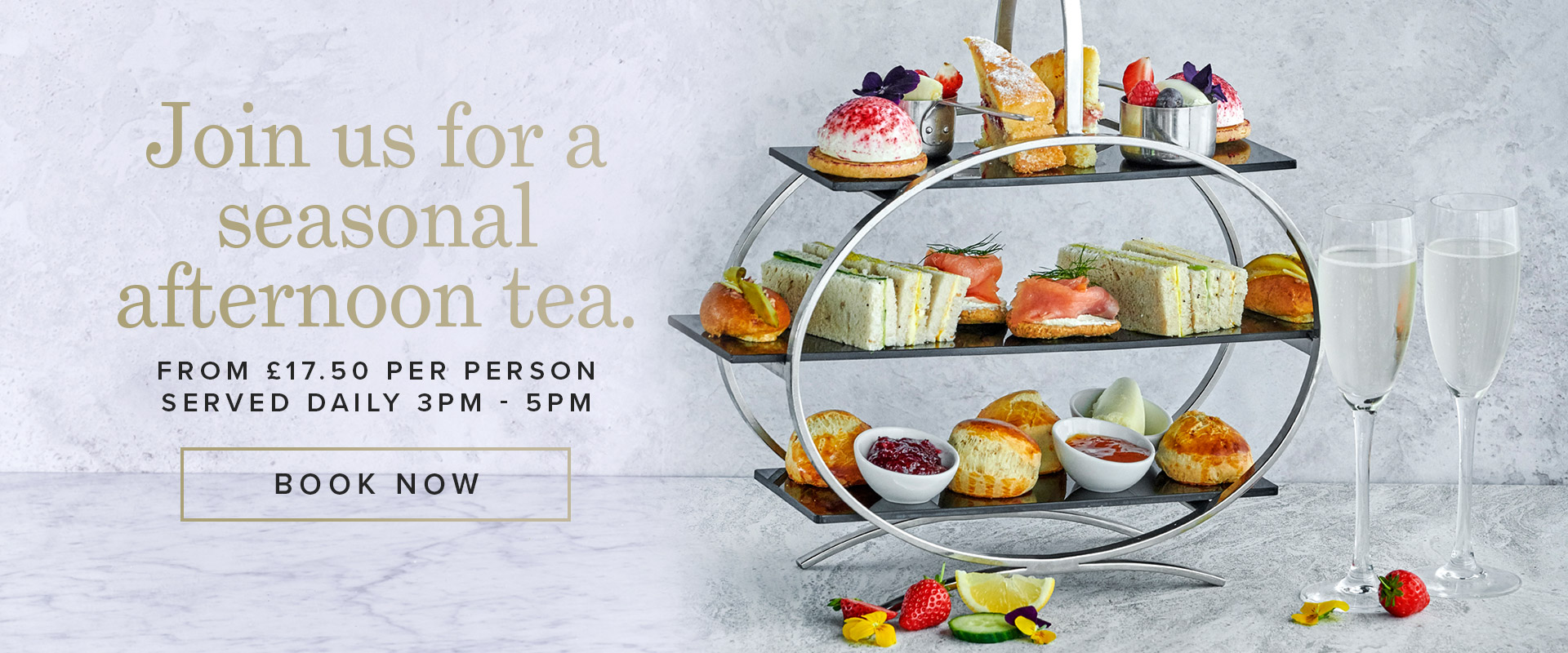 Afternoon Tea at Browns Butlers Wharf