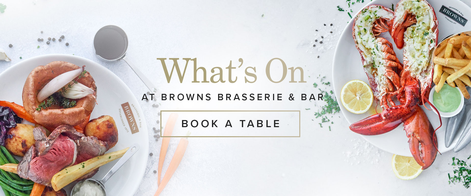 What's on at Browns Cambridge