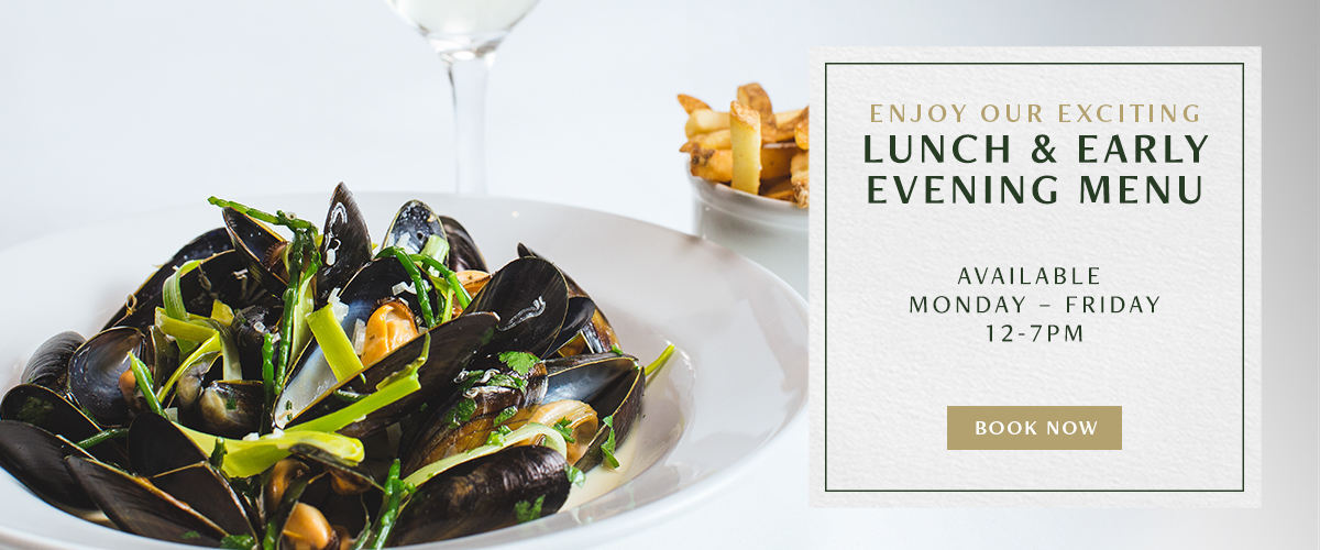 Lunch and Early Evening Menu