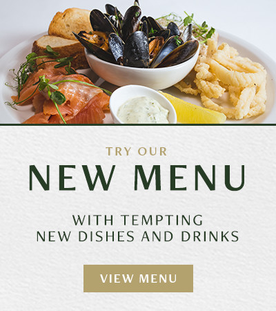 Try our New Menu
