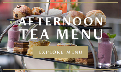 Afternoon Tea Menu at Browns