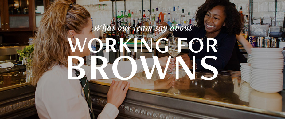 What out team say about working for Browns