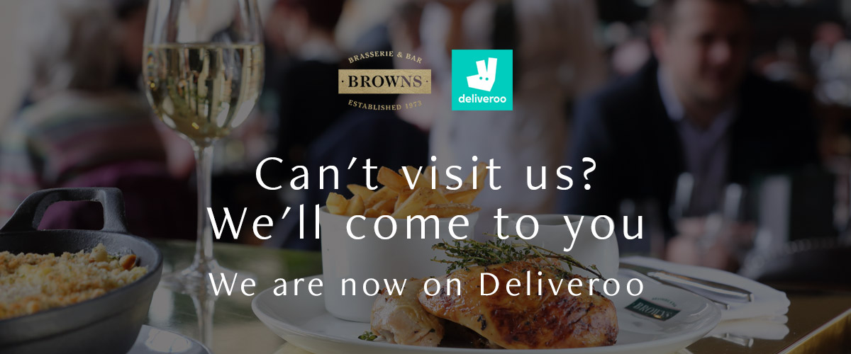 Deliveroo at Brown's