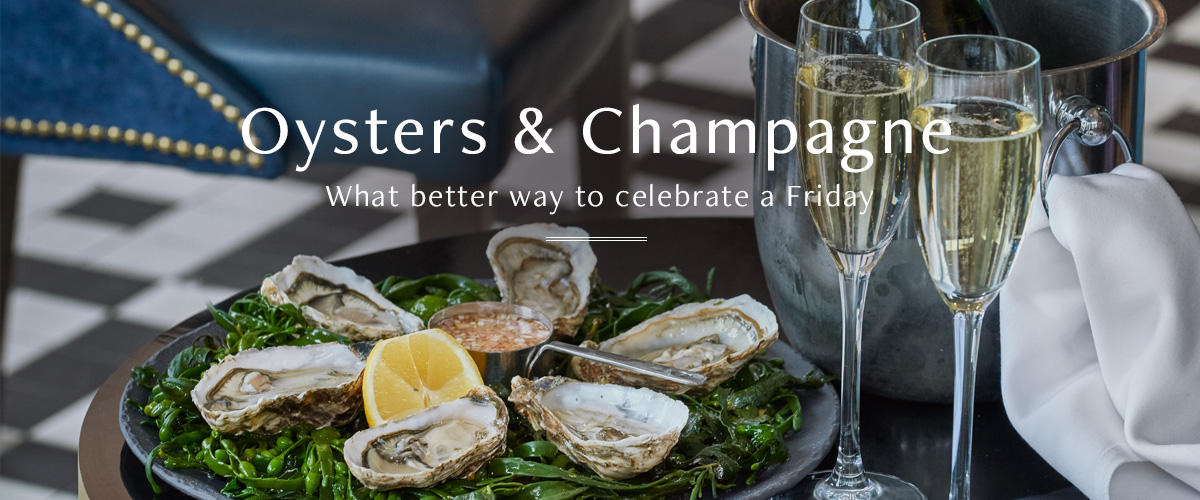Oysters & Champagne at Browns
