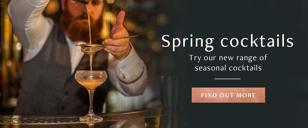 New Spring Cocktails