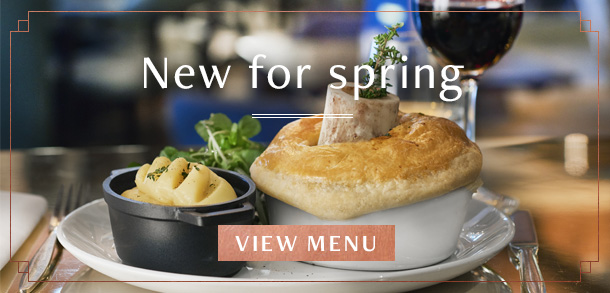 New spring menu at Browns