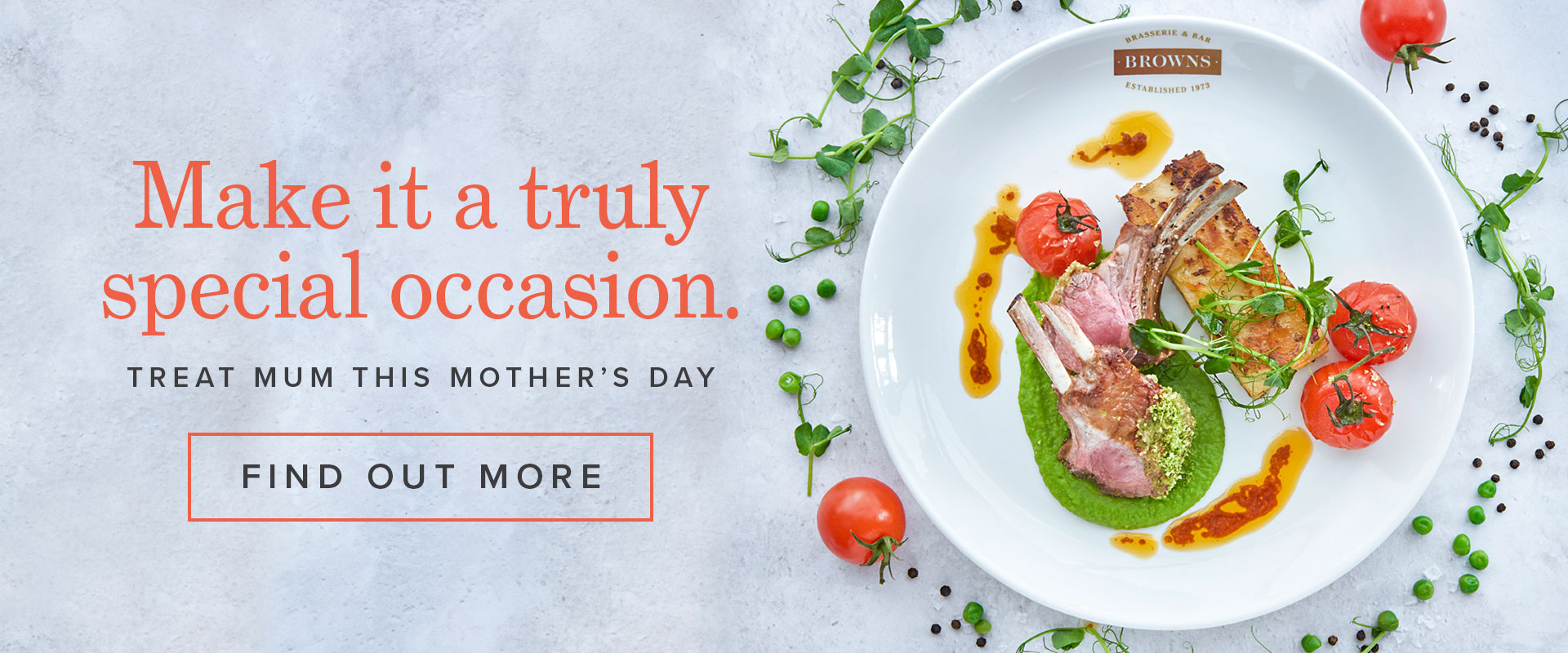 Mother's Day 2019 at Browns Old Jewry
