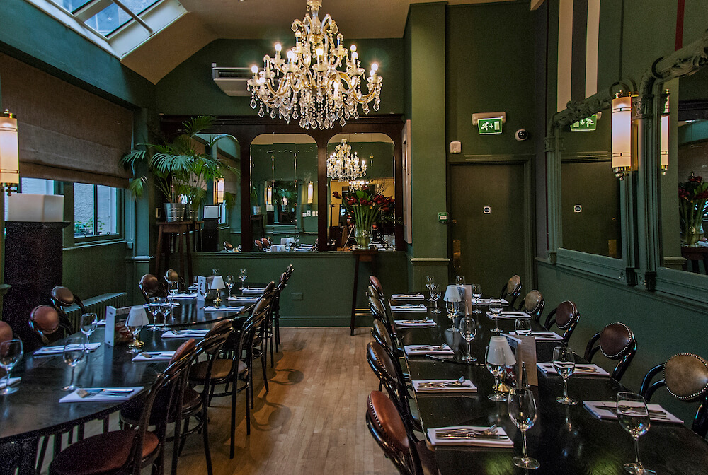 Private dining rooms events browns in edinburgh for Restaurants with private dining rooms