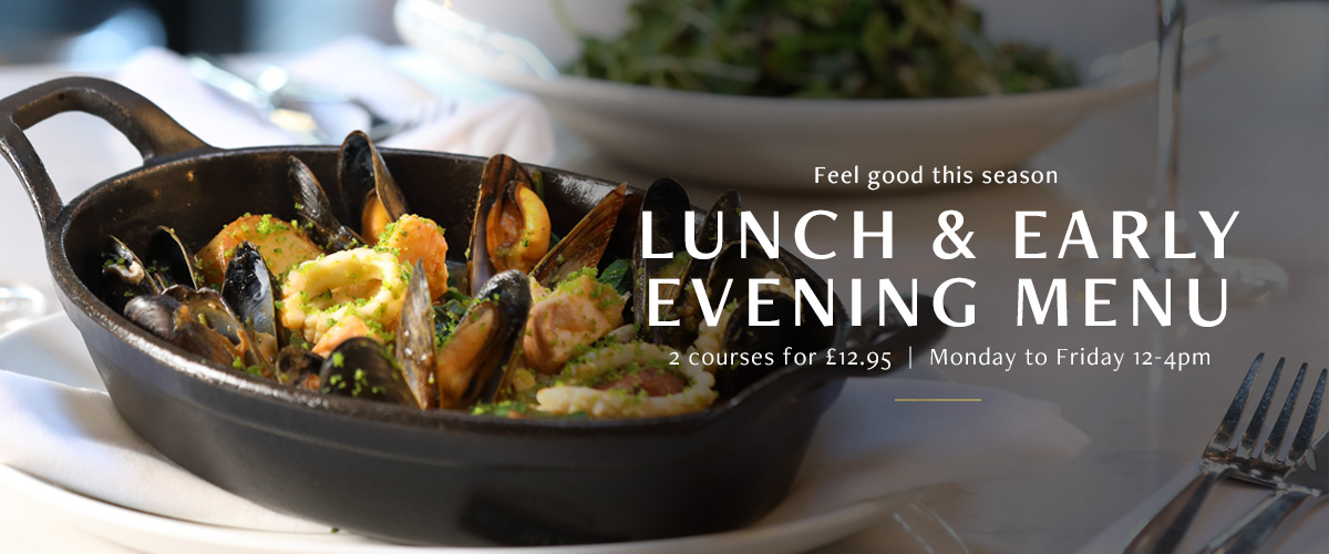 Lunch and Early Evening Menu at Browns Covent Garden