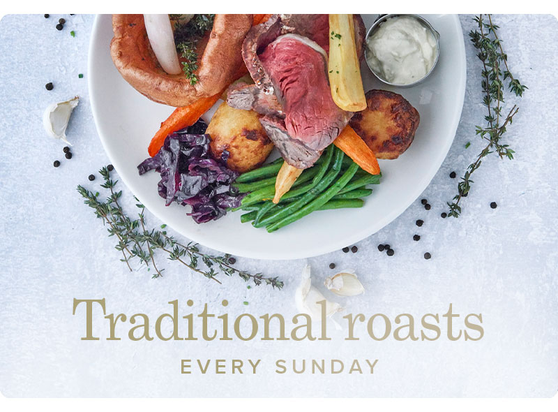 Traditional Sunday Roasts