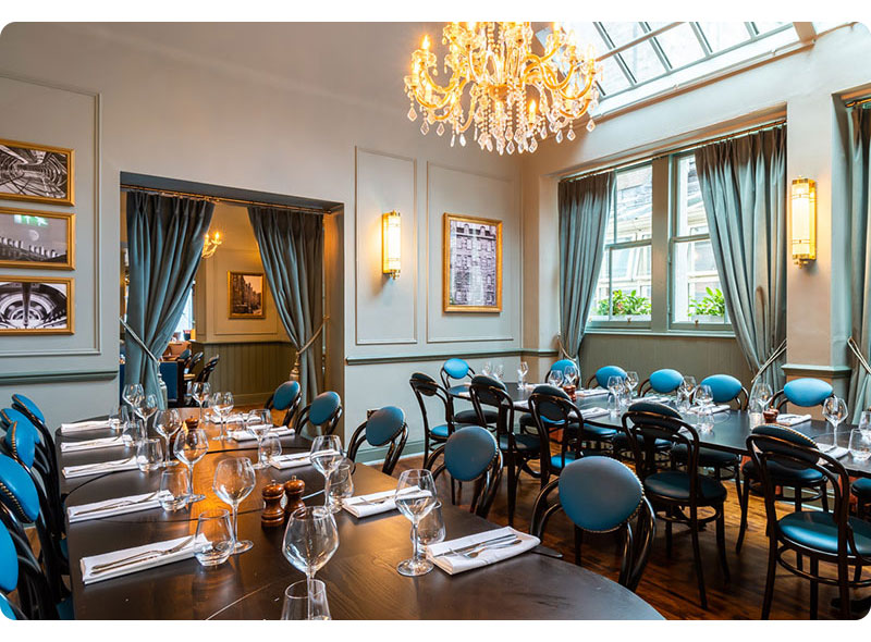 Private Dining at Browns Edinburgh