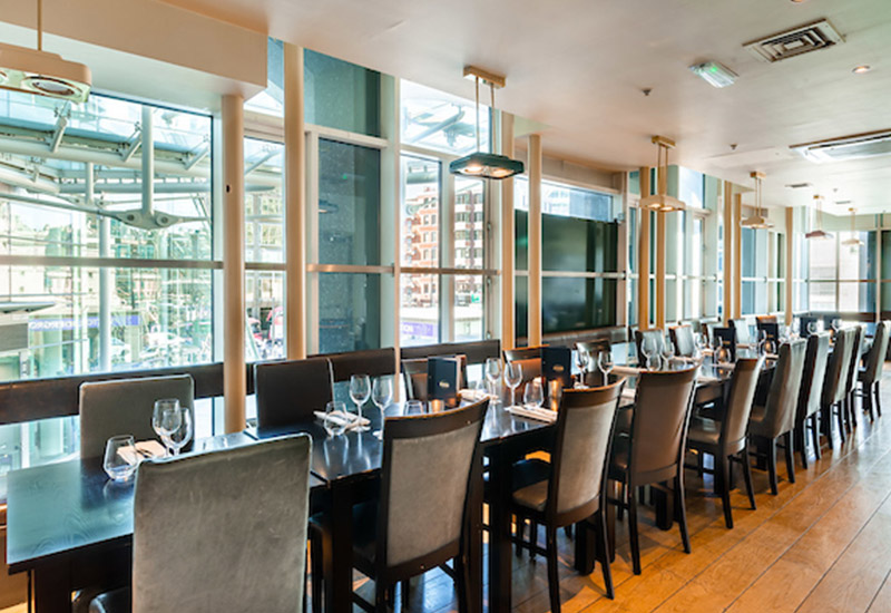 Private Dining at Browns Manchester