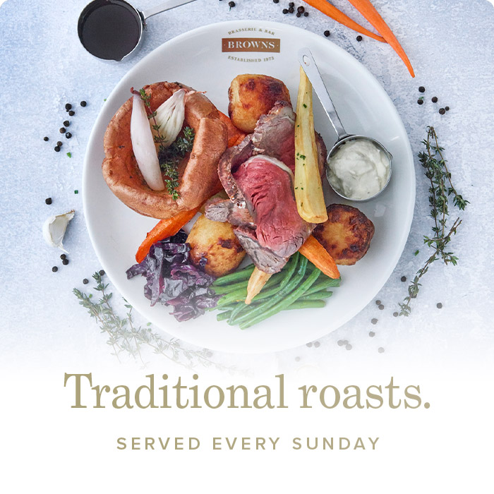Sunday Roasts at Browns